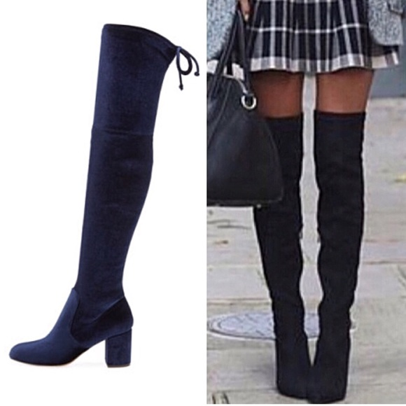 0ae2718a76c Charles by Charles David Over the Knee Velvet Boot